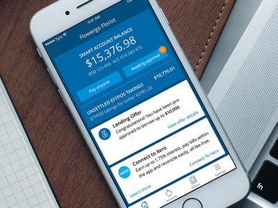 Tyro Payments Banking App banking finance iphone app
