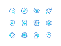 Data Governance Icons
