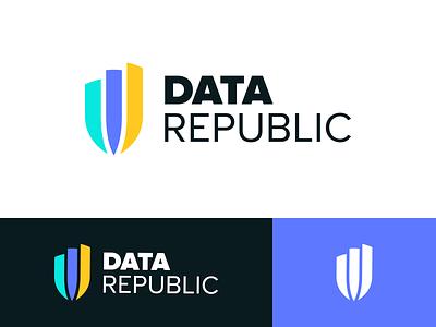 Data Republic Branding Concept concept brand identity identity design identity brand design branding logo