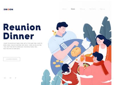 Reunion  Dinner-snowball design