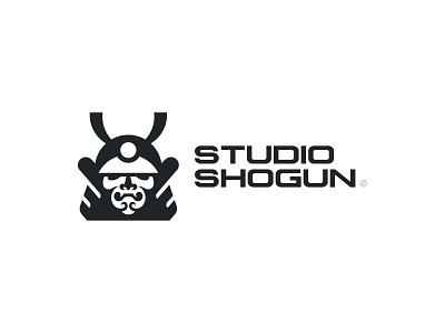 Studio Shogun - Unused Concept samurai shogun mark design brand logo branding