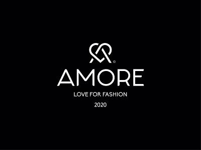 AMORE typography heart logo love logo logomarks logomark a letter logo a letter hearts love heart black icon mark design brand logo branding