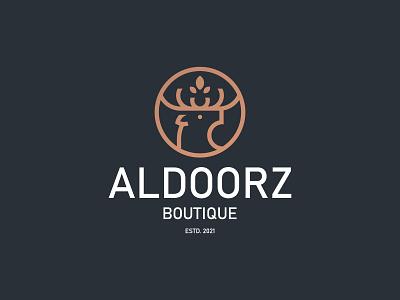ALDOORZ BOUTIQUE 1 2 3 4 5 6 7 8 9 0 a b c d e f g h i j k l m n o p q r s t u v w q y z jewel flower head animal boutique deers branding deer logo deer