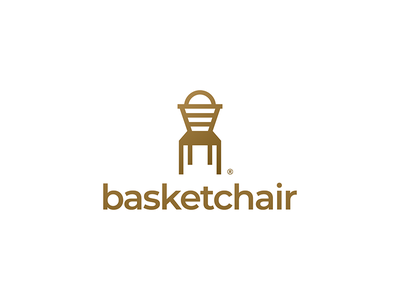 BasketChair basket logo cart logo print cart basket branding brand logo