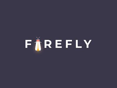 FIREFLY print wordmark vector illustration branding brand