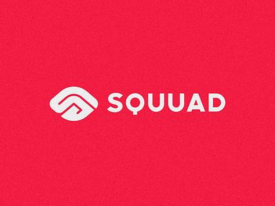 SQUUAD fingerprint logo fingerprint eye logo eye logo red red logo print s logo sketch design icon branding brand