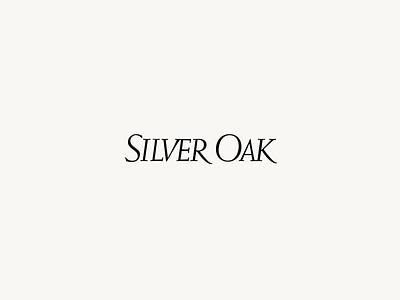 Silver Oak — Loading Animation type animation type wordmark interactive web loader loading animation loading ae after effects animation transition interface ux ui motion