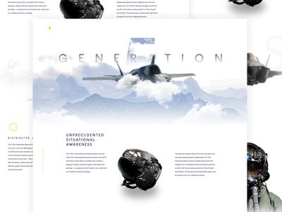 G5 - Teaser altitude stay high aviation display hud pilot white flight five generation f35