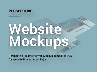 Perspective Website Mockups