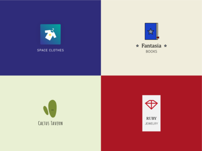 Inktober | Logos planche n° 1