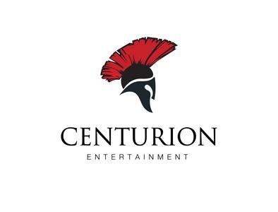 Roman style film production logo