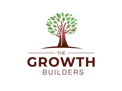 Self development logo people tree growth self-development illustration branding icon logo design vector