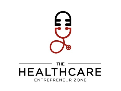 Healthcare podcast logo health wellness medical healtcare podcast logo podcast illustration branding icon logo design vector