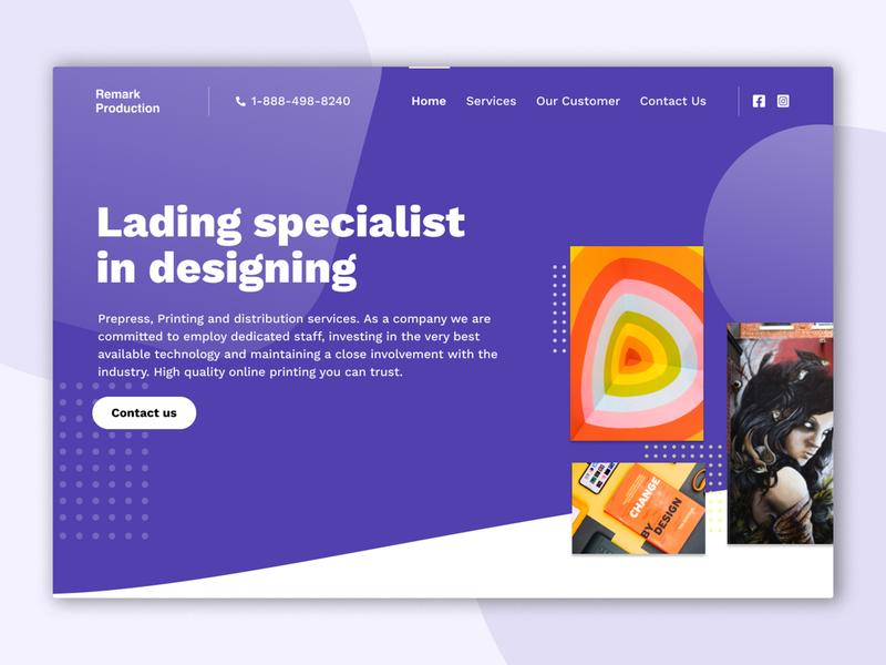 Landing Page Design website landing page graphic design agency marketplace webdesign website design home page design branding
