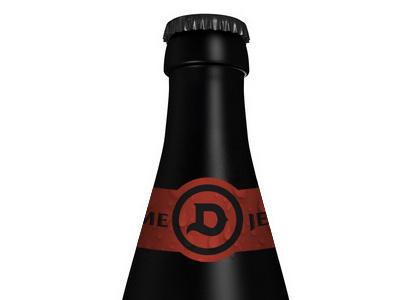 Diablo Bottle beer bottle packaging branding