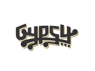 Gypsy Beer Comp1 typography beer branding identity logo