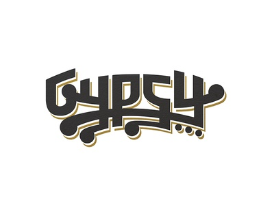 Gypsy Beer Comp1 typography beer branding identity logo