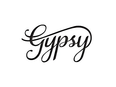 Gypsy Beer 2 typography packaging beer branding