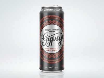 Gypsy Dubbel Coffee Porter packaging can beer