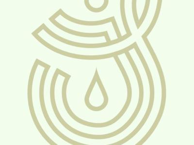 JS Monogram design logo identity typography branding