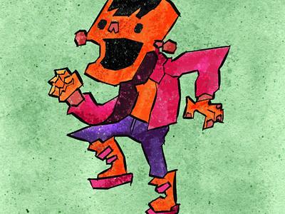 Random Monster Character digital crayon illustration digital illustration illustration character design monster