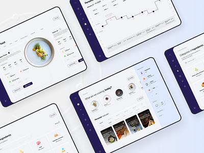 Luminarious — molecular cuisine, neomorphism interface webdesigner concept molecular cuisine molecular food food figma dribbble behance desktopdesign uxui uiux ui design maildesigncup webdesign neumorphism neomorphism ui