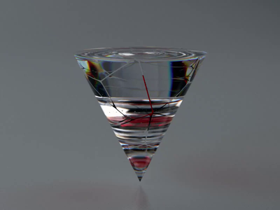 Fullness 🔺 3/6 3d modeling rotate glass pyramid redshift render 3d art artist 3d artist 3d dribbble interface behance ux uidesign webdesign uiux figma ui design
