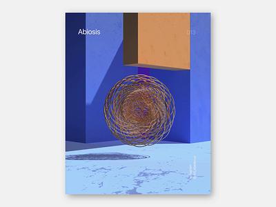 Abiosis, 013 c4d redshift renderer abstract cryptoart nftart nft motion graphics animation motion graphics digital art art concept motion uidesign figma render webdesign uiux ui design