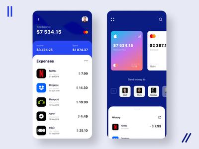 Mobile app payment, concept