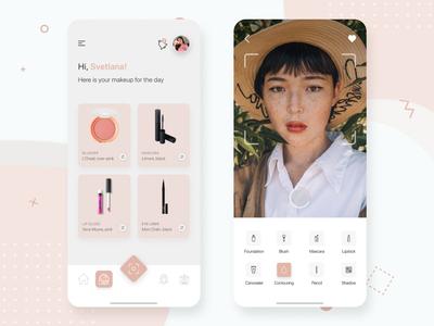 Lirellate - make up & skin care, mobile application