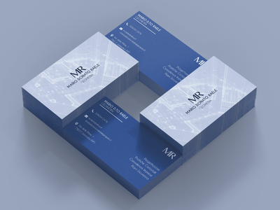 Surveyor Business Card surveyor businesscard mockup graphic branding project design