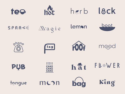 Logofolio font word logofolio illustrator visual branding elements graphicdesign logotype design logo