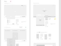Web Design for an upcoming social platform. Work in progress..