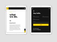 Web for a Digital Agency