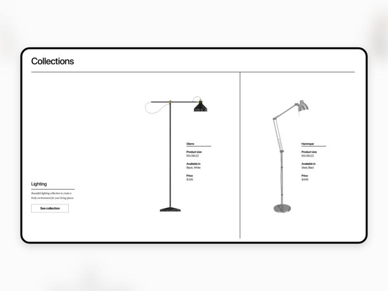 Pacific Web UI Kit minimal figma online store web uidesign uiux ui kit webdesign adobe xd ux ui