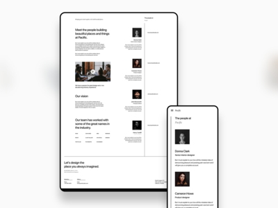 Pacific web agency about us team careers interior architect webdesign design ux ui