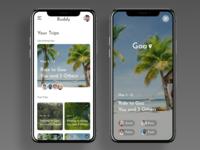 "Travel App - ""Buddy"" Concept Design"