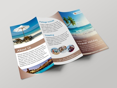 Tri Fold Brochure (Outside)
