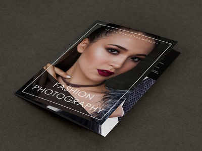 Brochure Design (Fashion Photography)