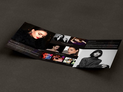 Brochure Design Inside (Fashion Photography)