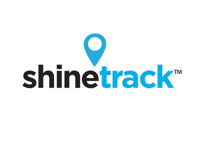 Shine track logo