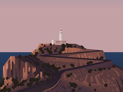 Mallorca WIP rocks cliffs sunrise cycling hill road lighthouse majorca mallorca