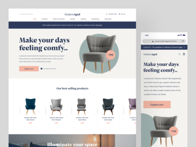 Furniture ECommerce Website Home Page UI uiuxdesign website designer website ui design furniture website furniture website design website landing page ecommerce design ecommerce landingpagedesign landingpage ui design uiux uidesigner uidesign
