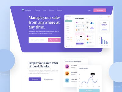 Sales Management Dashboard App Landing Page saas website sales dashboard dashboard app dashboard ui dashboad uiux designer uiuxdesigner uidesigns agency saas sales dashboard app ui design website uiuxdesign landingpage design uiux uidesigner uidesign