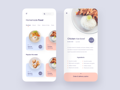 Homemade Food Delivery App