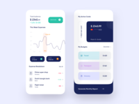 Finance Mobile App UI Design