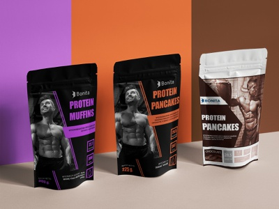 "Sport Food Packs ""Bonita"" food chocolate branding sports design package design advertisement design"