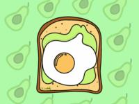 Acocado toast