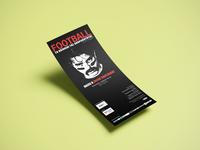 Flyer design / theater