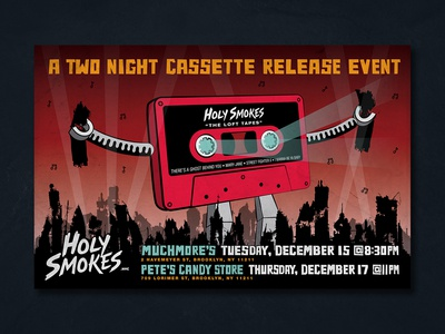 Holy Smokes Cassette Release Event